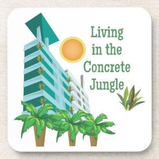 Concrete Jungle Drink Coaster