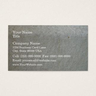 Concrete kerbing business card