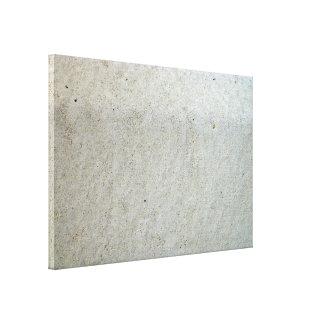Concrete kerbing canvas print