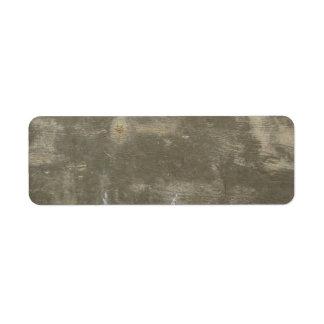 Concrete Label