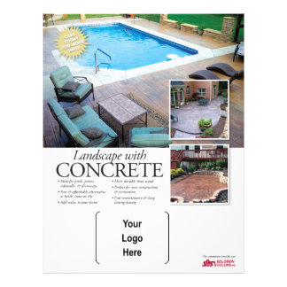 Concrete Landscaping with Solomon Flyer
