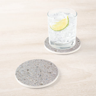Concrete drink beverage coasters zazzle - Stone coasters for drinks ...