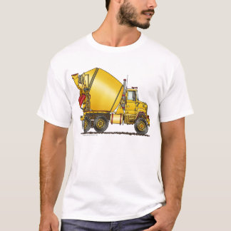 Concrete Mixer Truck Apparel T-Shirt