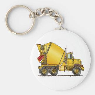 Concrete Mixer Truck Key Chains
