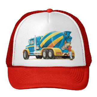Concrete or Cement Mixer Hat