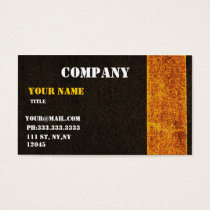 concrete road  Business Cards