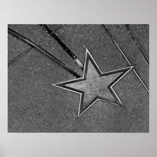 Concrete Star Poster