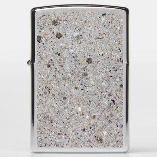 Concrete Surface Photo Zippo Lighter
