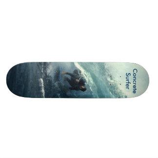 Concrete Surfer Skateboard Deck