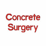 Concrete Surgery Embroidered Shirt