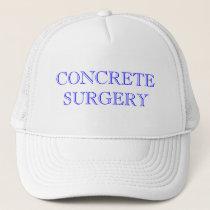 CONCRETE SURGERY TRUCKER HAT