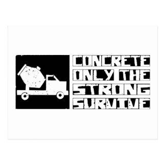 Concrete Survive Postcard