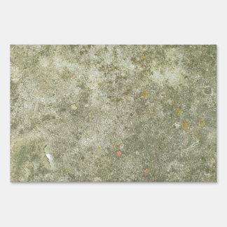 Concrete Texture Background Sign