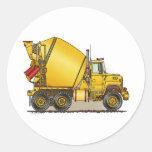Concrete Truck Kids Sticker