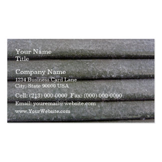 Concrete wall with regular patterns business card