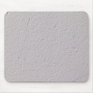 Concrete wall with white paint mouse pad