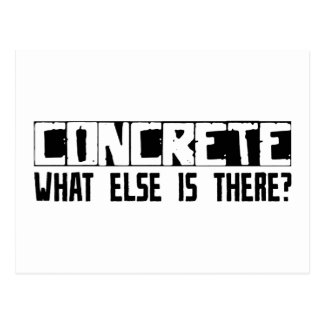 Concrete What Else Is There? Postcard