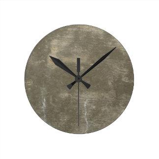 Concreto Reloj Redondo Mediano