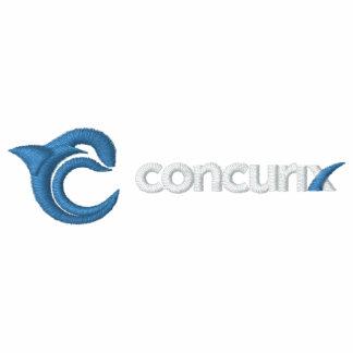 Concurix Black Polo White Logo