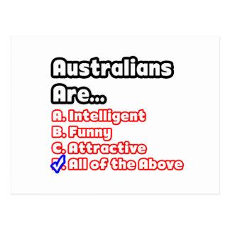 Concurso australiano del orgullo tarjetas postales