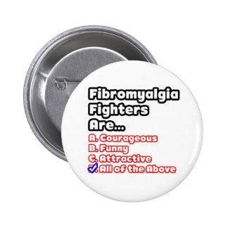 Concurso del combatiente del Fibromyalgia Pin