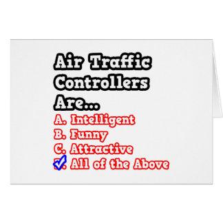 Concurso del controlador aéreo. tarjeta de felicitación
