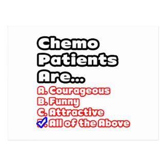 Concurso del paciente de Chemo Postal