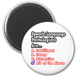 Concurso del patólogo de la Discurso-Lengua Imán Redondo 5 Cm
