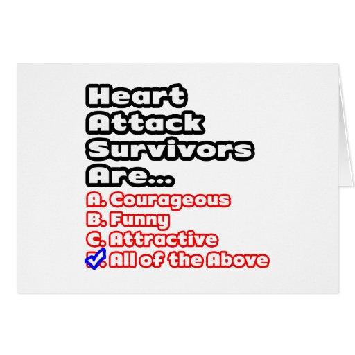 Concurso del superviviente del ataque del corazón tarjetón