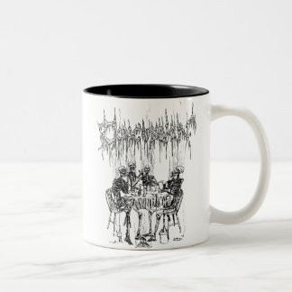 Concussion Smoking Skeletons Mug
