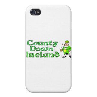 Condado abajo, Irlanda iPhone 4/4S Fundas