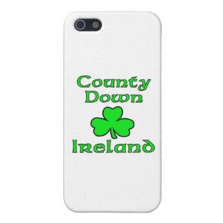 Condado abajo, Irlanda iPhone 5 Carcasa