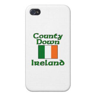 Condado abajo, Irlanda iPhone 4 Cárcasas