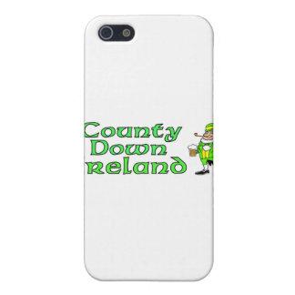 Condado abajo, Irlanda iPhone 5 Protectores