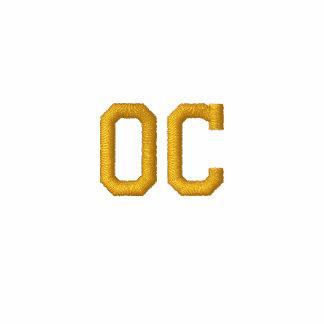 Condado de Orange bordado CA - oro Sudadera Bordada Con Serigrafía