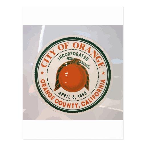 Condado de Orange, Ca, los E.E.U.U. Tarjetas Postales