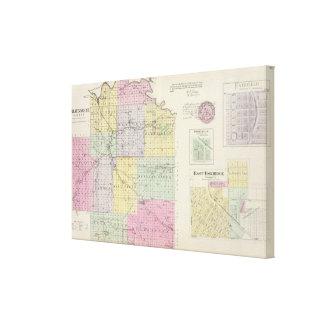 Condado de Wabaunsee, Kansas Lona Envuelta Para Galerias