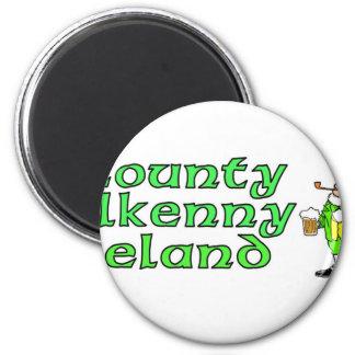 Condado Kilkenny, Irlanda Imán Redondo 5 Cm