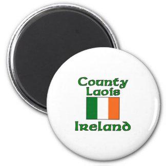 Condado Laois, Irlanda Imán Redondo 5 Cm