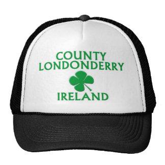 Condado Londonderry Irlanda Gorros Bordados