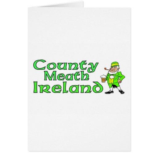Condado Meath, Irlanda Felicitación