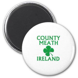 Condado Meath, Irlanda Imán Redondo 5 Cm