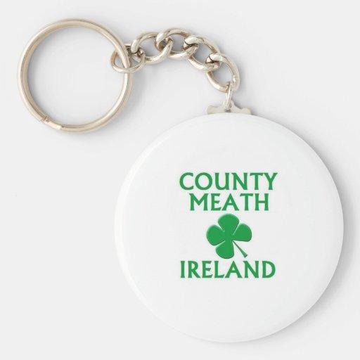 Condado Meath, Irlanda Llavero Personalizado