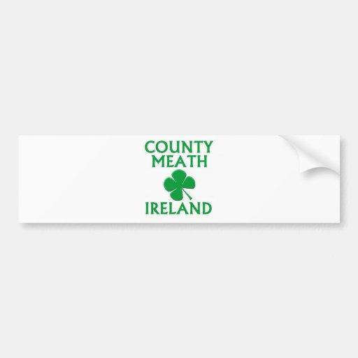 Condado Meath, Irlanda Pegatina De Parachoque
