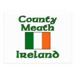 Condado Meath, Irlanda Tarjeta Postal