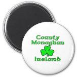 Condado Monaghan, Irlanda Imán Redondo 5 Cm