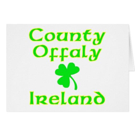 Condado Offaly, Irlanda Tarjeta De Felicitación