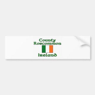Condado Roscommon Irlanda Pegatina De Parachoque