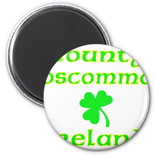 Condado Roscommon, Irlanda Iman Para Frigorífico