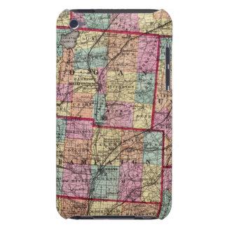 Condados 2 de Ohio iPod Case-Mate Cobertura
